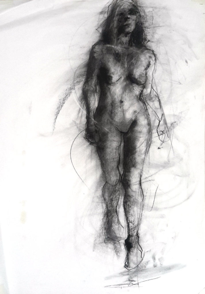 Charcoal drawing 2 July 2016