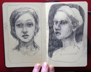 daily sketches